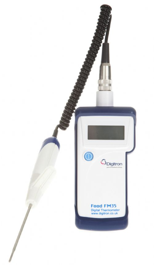 Hand-Held Food Thermometer